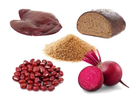 lista de los mejores alimentos para combatir la anemia