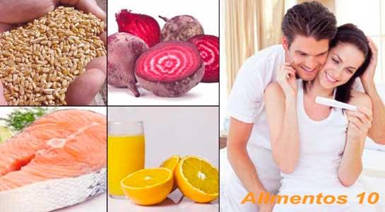 alimentos para aumentar la fertilidad