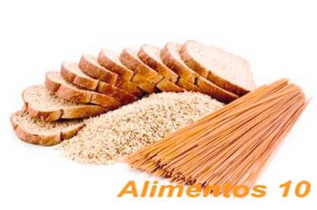 consumiendo vitaminas y minerales como la pasta y el arroz podemos bajar la ferritina
