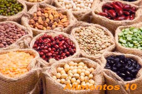 las legumbres contienen gran cantidad de acido folico