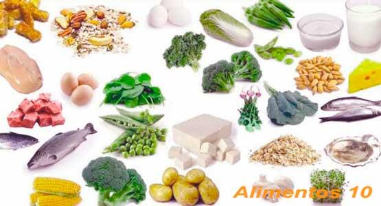 Dieta para reducir el hierro