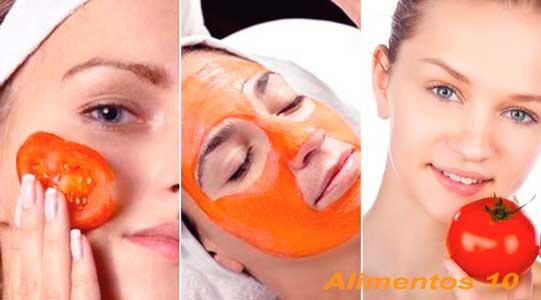 los tomates son ricos en antioxidantes para la piel