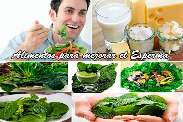 productos naturales para mejorar el esperma
